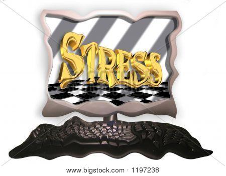 Equipo estrés, derretimiento abajo