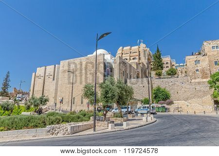 Western Wall entrance, Jerusalem