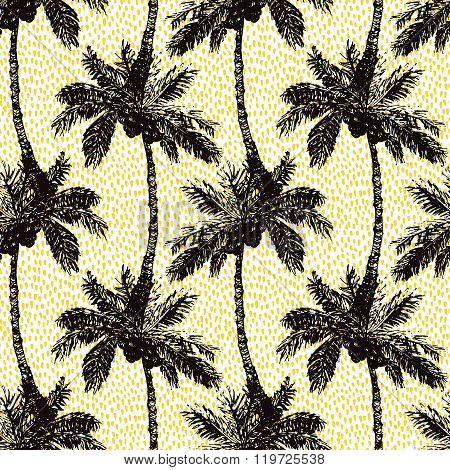 Palm Seamless Pattern A