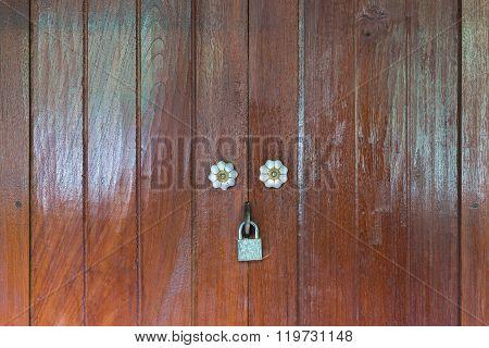 Thai Wooden Door