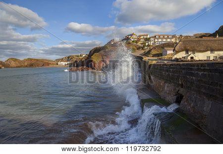 Hope Cove, Devon, England