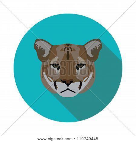 Flat Icon Puma