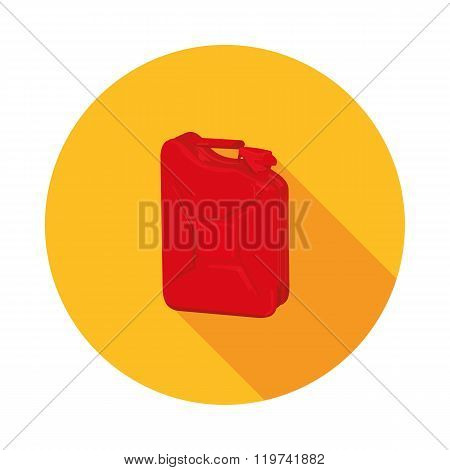 Flat Icon Canister