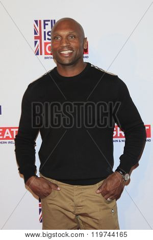 LOS ANGELES - FEB 26:  Mark Rhino Smith at the The Film is GREAT Reception Honoring British 2016 Oscar Nominees at the Fig and Olive on February 26, 2016 in West Hollywood, CA