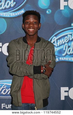 LOS ANGELES - FEB 25:  Lee Jean at the American Idol Farewell Season Finalists Party at the London Hotel on February 25, 2016 in West Hollywood, CA