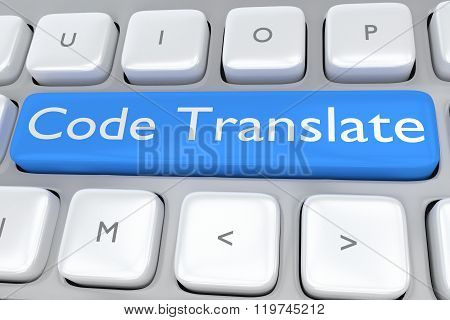 Code Translate Concept