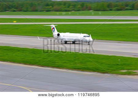 Severstal Air Company Bombardier Canadair Regional Jet Crj-200Lr Aircraft