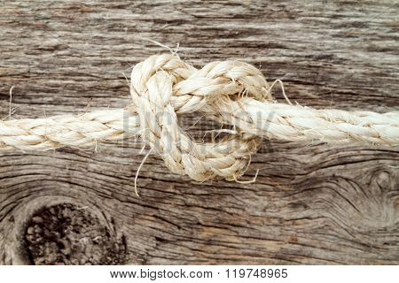 Sisal Rope With Knot