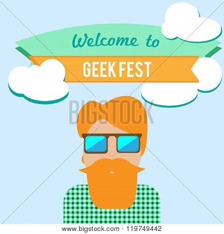 Geek Fest Flier