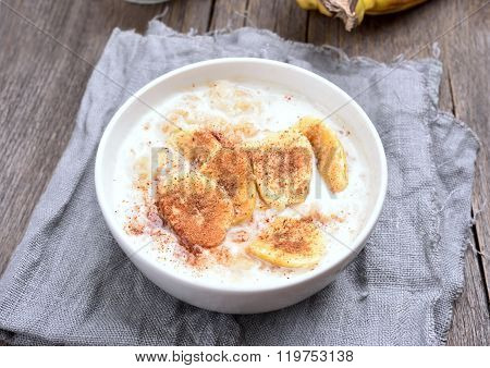 Banana Oats Porridge
