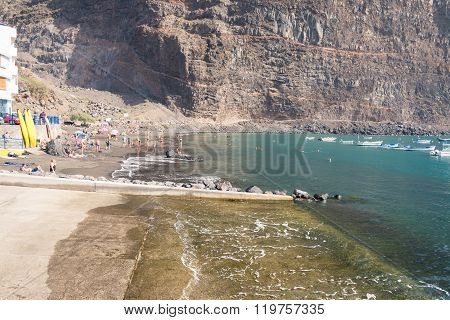 Beach in Vueltas, La Gomera