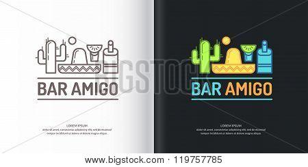 Mexican Bar Logo.