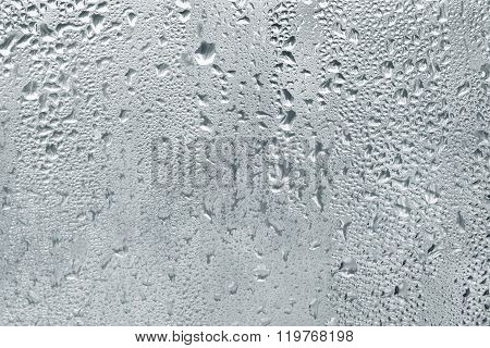 Misted Window Glass