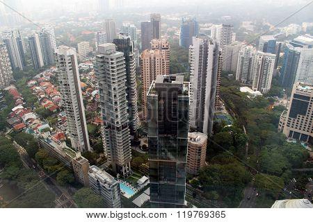 Singapore skyview