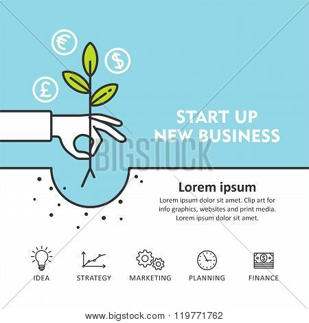 Start Up New Business Development and Launch a New Innovation Product on a Market