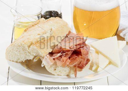 Cured Ham Sandwich