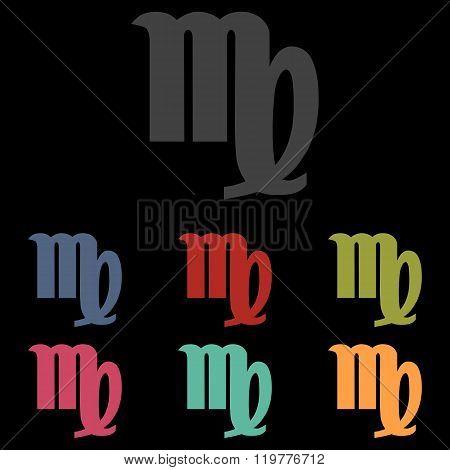 Vector zodiac sign
