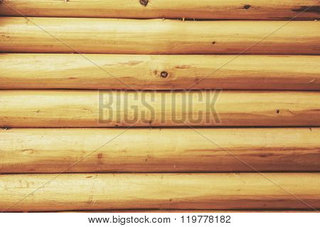 Wooden Texture In Bright Light