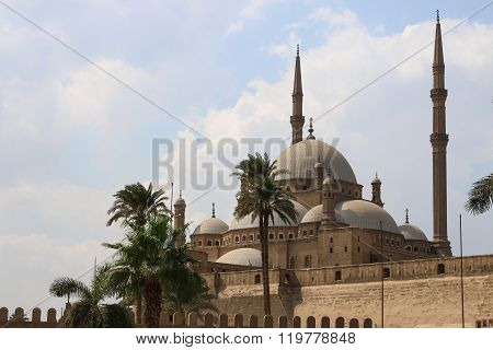 The Mosque Of Muhammad Ali Pasha Or Alabaster Mosque. Egypt