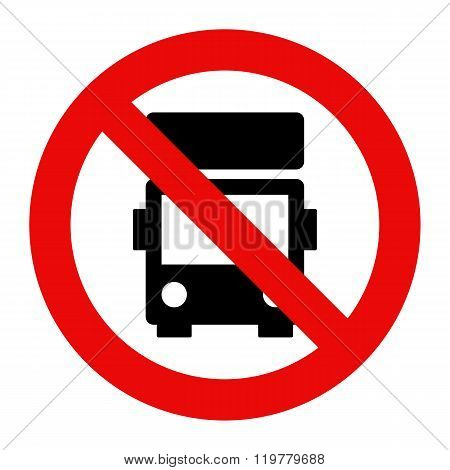 No Lorry Parking Sign