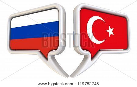 The dialog between the Russian Federation and Turkey