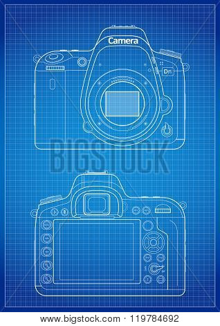 DSLR Camera Outline