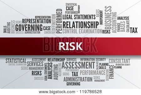 RISK | Business Abstract Concept