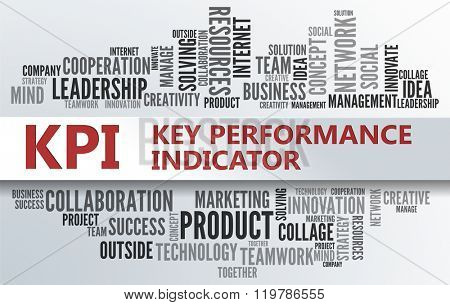 KPI - Key Performance Indicator | Business Abstract Concept
