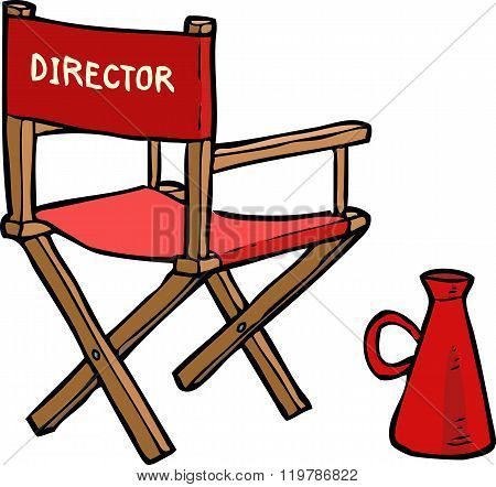 Cartoon Director Chair