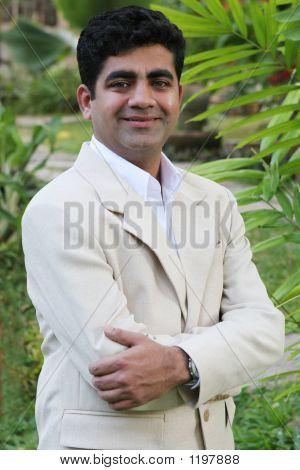 Indian Man Smiling