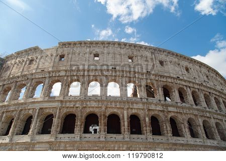 Bottom View Of Colosseum
