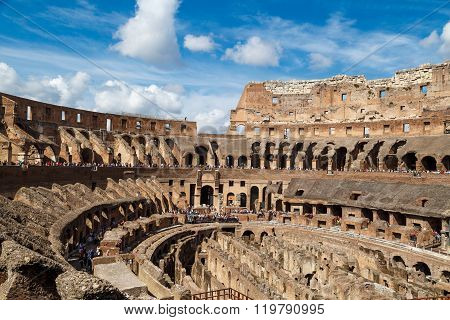 General Inside View Of Colosseum