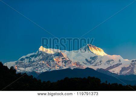 Mountains Inspirational Landscape View, Himalayas