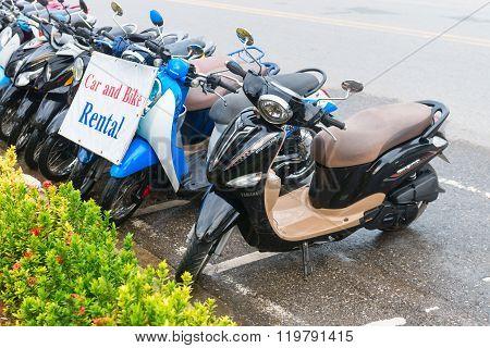 Motor Bikes For Rent In Ao Nang, Krabi