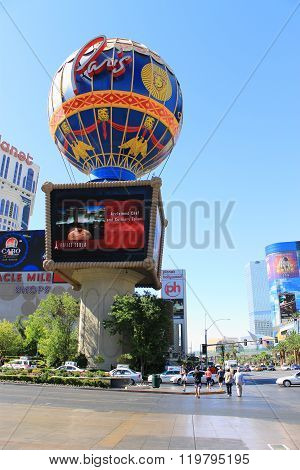 Las Vegas - Paris Hotel And Casino