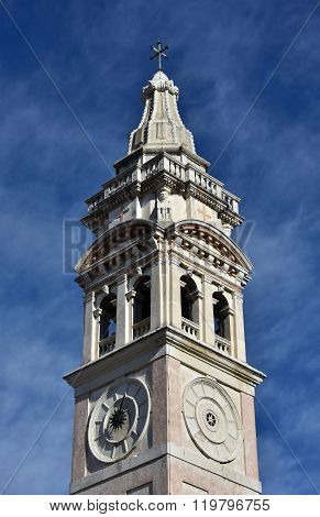 Sant Maria Formosa Beautiful Belfry In Venice