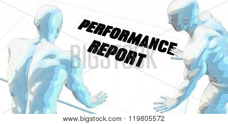 Performance Report Discussion and Business Meeting Concept Art