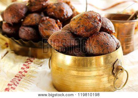 Unniyappam Fried Rice Balls For Vishu Festival On Kerala