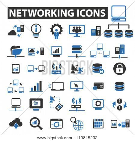 networking icons, networking logo, networking vector, networking flat illustration concept, networking infographics, networking symbols,