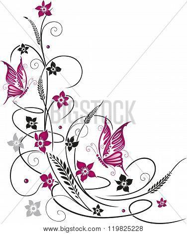 Flowers, tendril