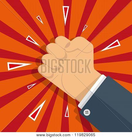 fist protest symbol