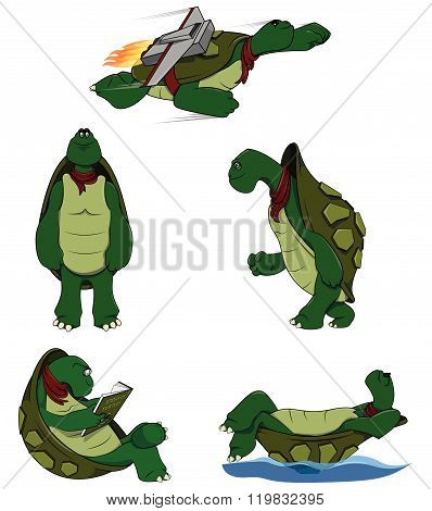 Turtle Character set collection