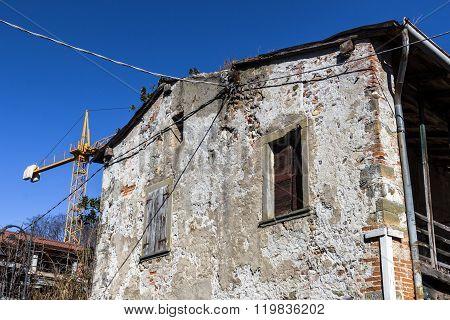 Old House Under Renovation