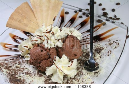 Beautifully Decorated Ice Cream