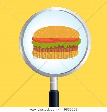 Searching for hamburger