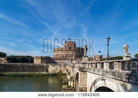 Castel Sant Angelo View