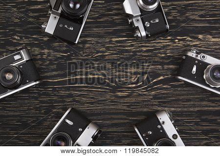 vintage camera background