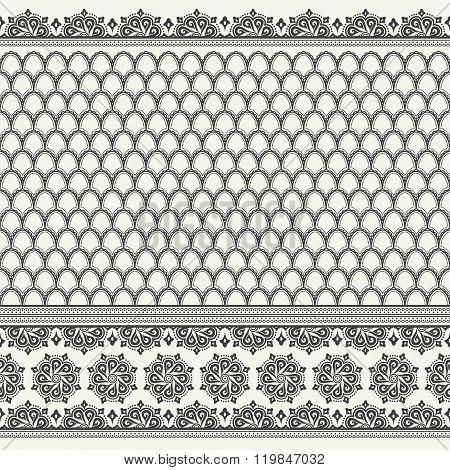 seamless asian pattern