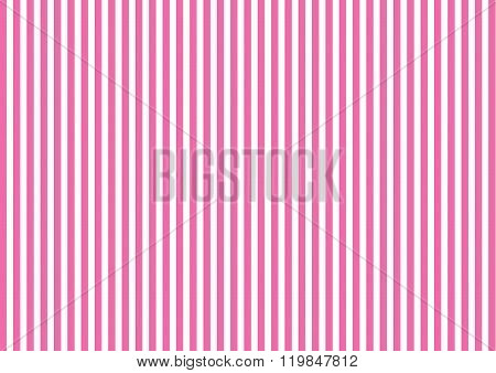 Vector striped pattern with vertical line