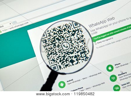 Whatsapp on the web.